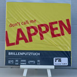 "Lustiges Brillenputztuch ""don't call me LAPPEN"""