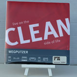"Lustiges Brillenputztuch ""CLEAN"""