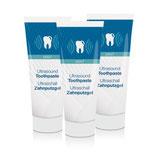 Cleany Teeth fluorid oder fluoridfreies-Zahnputzgel 3er Pack