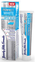 #26811 Beverly Hills Formula® PerfectWhite Optic Blue–  Dentifrice, 500 ppm AminF,  10 tubes à 100 ml