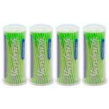 "#22730 Microbrush® Original – séries de tube, ""Regular"" vert (MRG400), 1 paquet à 4x100 applicateures"