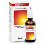 #2712 Dequonal® Spray – Antiseptikum für Mund und Rachen,  4 Flaschen à 50 ml