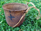 Yanomami Carrying Basket with Sling (crosses) sold