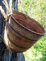 Yanomami Carrying Basket with Sling
