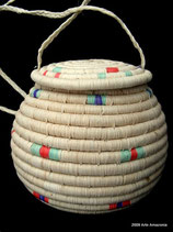Warao Basket with Lid - sold