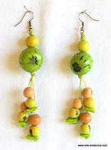 Acai & Bombona Seed Earrings