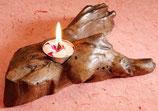 Candle - Teak Root Tealight - Single