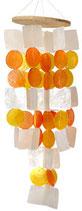 Mobile - Suncatcher - Orange and White