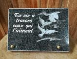 Plaque Oiseau 20