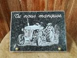 Plaque Tracteur 29
