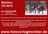 Biathlon Foto-CD 2015 Bestell-Nr. 151502
