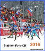 Biathlon Foto-CD 2016 Bestell-Nr. 161602