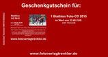 Geschenkgutschein Biathlon Foto-CD Bestell-Nr 15150203