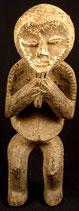 Statue Africaine en bois patinée