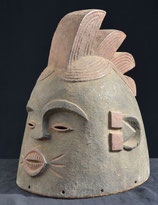 Masque Africain heaume MENDE (Sierra Leone)