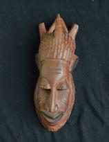 masque  africain en bois du Sénégal
