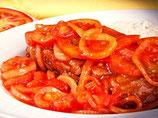 2 Carnes en Bisteck a la criolla 150grs + 2 Naranjadas