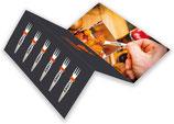 Pieker - Pommesgabeln aus Edlestahl, 6 Stück im Set