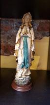 Heilig Maria witte mantel biddende handen