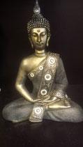 Thaise Boeddha met spiegeltjes authentieke look