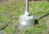 Befestigung: Pumpensockel / Bodenmontage