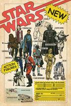 Star Wars - Vintage Action Figurs Poster 61x91cm
