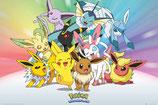 Pokemon Poster Evoli 61x91cm