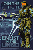 Halo Infinite Poster Set Join the Fight 61x91cm