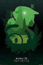 Halo Infinite Lakeside Poster 61x91cm