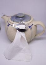 Teeclip Form Teekanne