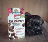 Gebrannte Kakaobohnen