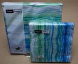 Blue waves 33 x 33