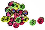 THE PHILIFANT & LIVE LIKE PHIL POP BUTTON