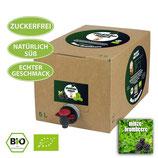 5 Liter Bio-Eisteekonzentrat 'Minze-Brombeere'