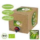 5 Liter Bio-Eisteekonzentrat 'Ingwer-Hanf-Minze'