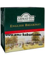 Ahmad London English Breakfast Tee 100 Tea Bags Tee Beutel