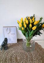 Tulpen boeket Geel