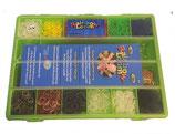 Rainbow Loom® Geschenkset Boys mit grünem Organizer / Cadeau Boys vert