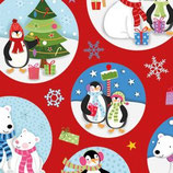 Weihnachtspapier / Cadeau Kids