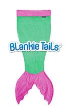 "Blankie Tails Kids Schlafsack /couverture douillette kid ""Green"""