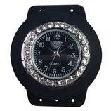 Loomey Time™ Uhr Juwel Schwarz/Montre brilliant noir
