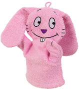 Kinder Waschhandschuh Wash & Play Hase