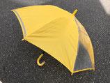 通園・通学用傘/ジャンプ55cm/窓付き/黄色・紺色(イエロー・ネイビー)