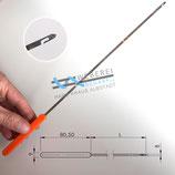 Einziehhaken lang, bis 28cm , Kettfadenüberwachung Einziehnadel. Garn, Fadenstecher