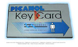Blaue Karte, blue key card 128KB BE151713
