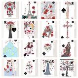 Lenormand-Kartenset aus 45 Karten