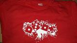 Würfel Shirt Rot