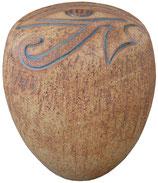 Keramik Urne Motiv Auge des Ra - Exclusiv nur bei Welt-Bestattung