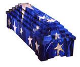 Designersarg - Himmelstreppe Sternenhimmel blau