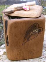 Holz Urne Heilende Herzen